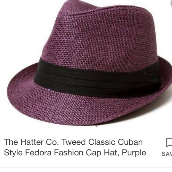 64c1367ef3b07 The Hatter Co Tweed Cuban style Fedora fashion hat